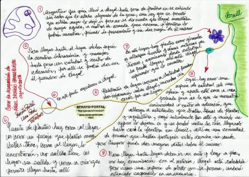 Psicografía N° 1, sobre desaparición de Ángel Ibarra Quispe (87)