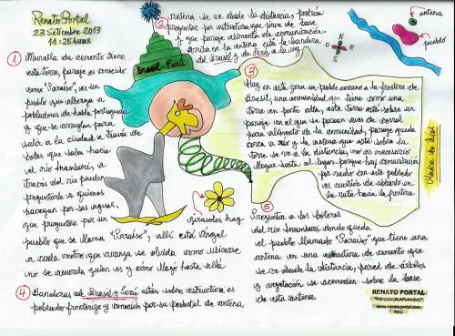 Psicografía N° 2 desaparición de Ángel Ibarra Quispe (87)