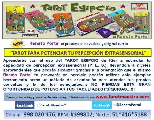"""""""TAROT PARA POTENCIAR TU PERCEPCIÓN EXTRASENSORIAL"""""""